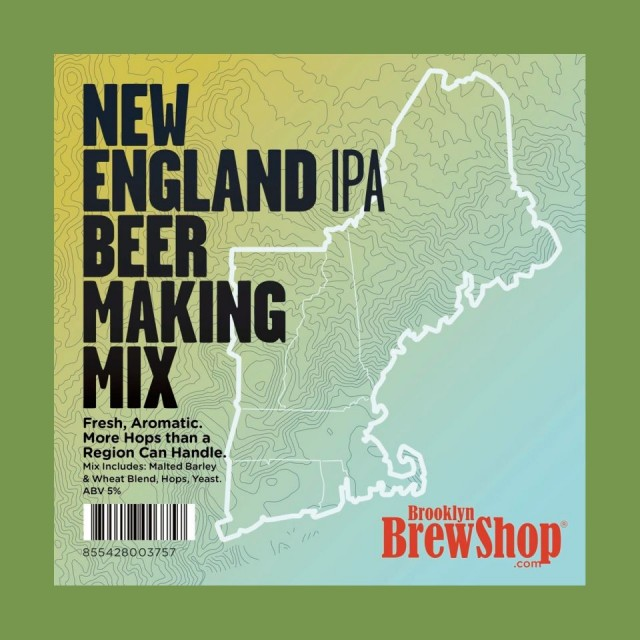 New England IPA Beer Making Mix by Brooklyn Brewshop